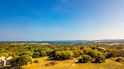 Сардиния - земельный участок с возможностью строительства отдельного дома 130кв.м. Море близко N388/000