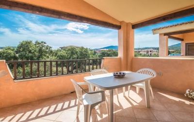 Апартаменты на Сардинии продажа. Терраса, вид, близко к морю, арендый потенциал. N387/000