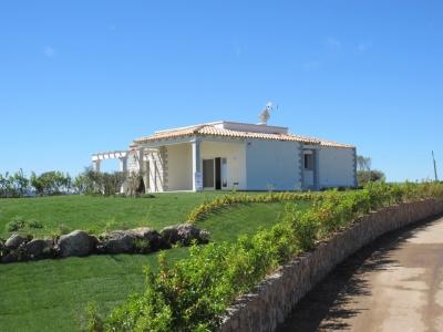 Вилла на Сардинии Олбия, первая линия с видом на море N000/366