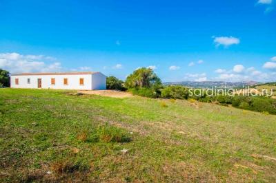 Сардиния продажа большого нового дома с участком 1га N000/365