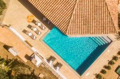 Сардиния вилла в аренду курорт Портобелло Галлура. До 7 гостей, бассейн, море 540м  N000/362